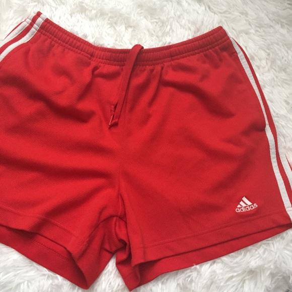 adidas Pants - Red Adidas Shorts